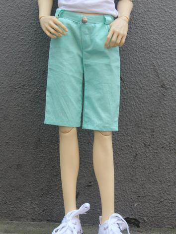 BJD Clothes Light Green Sho...