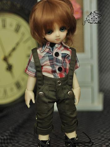 BJD Clothes Light Dark Gree...