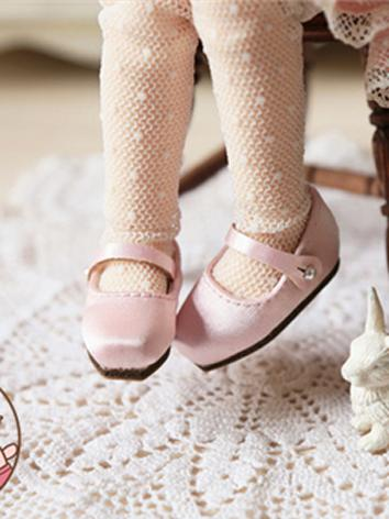 Bjd 1/6 Shoes Pink/White/Bl...