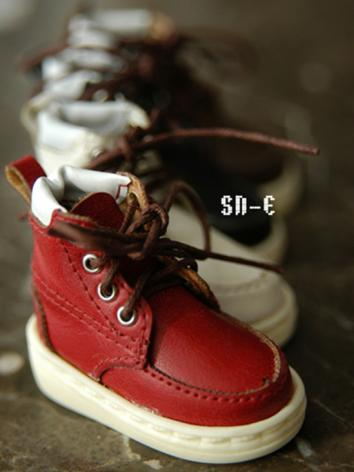 BJD Shoes Black/Red/Brown/W...