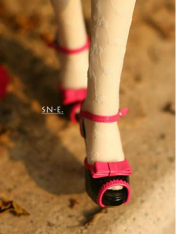 BJD Shoes Black/Pink/Gray H...