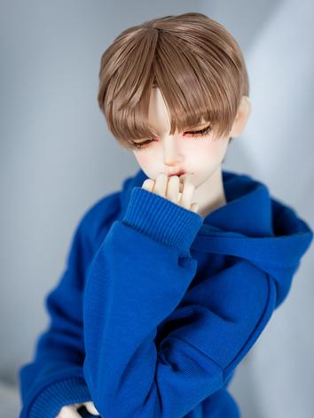 BJD Wig Boy Short Hair Wig for SD/MSD Size Ball-jointed Doll