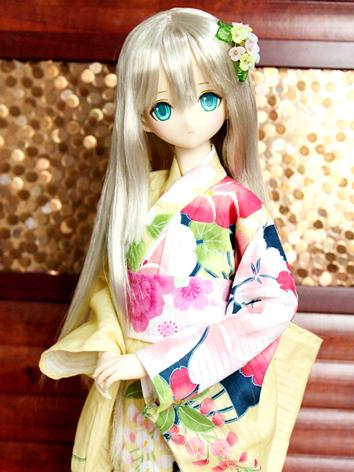 BJD Clothes Girl Yellow Pri...