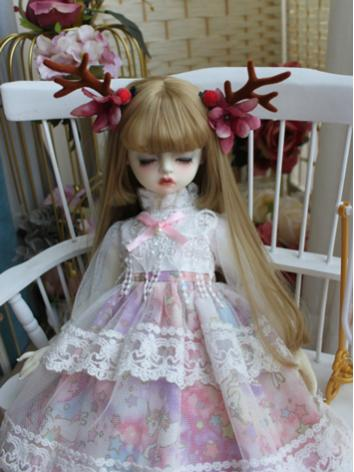 BJD Clothes Girl Pink Weste...