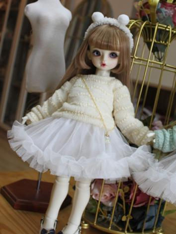 BJD Clothes Girl Green/Yell...