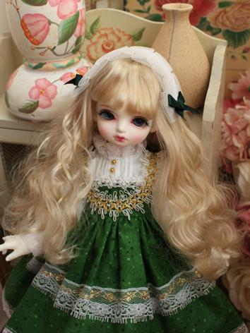 BJD Clothes Girl Green West...