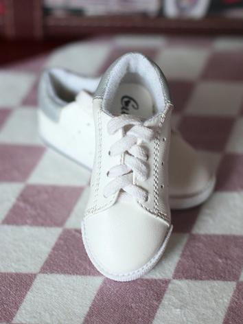 Bjd Shoes 1/3 /70cm Boy Whi...
