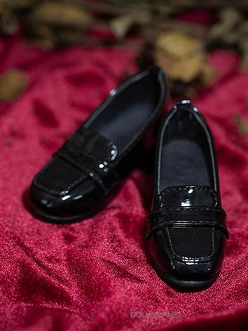 Bjd Shoes 1/3 1/4Girl Black/Wine Shoes for SD/MSD Size Ball-jointed Doll