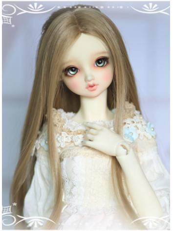 BJD 1/3 Wig Girl Brown Long...
