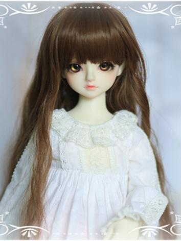 BJD 1/3 1/6 Wig Girl Brown ...
