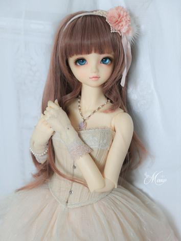 BJD 1/3 Wig Girl Wine Long ...