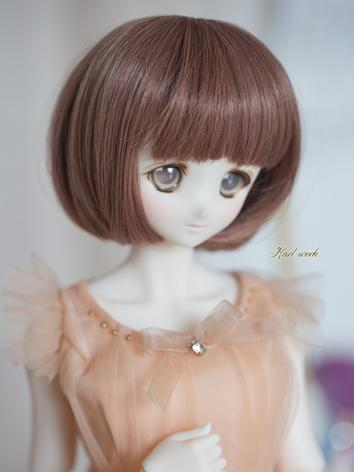 BJD 1/3 Wig Girl Wine Short...