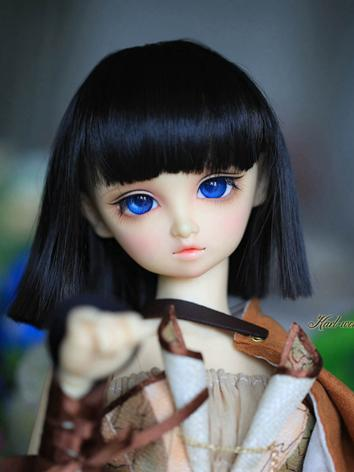BJD 1/3 Wig Girl Black Shor...
