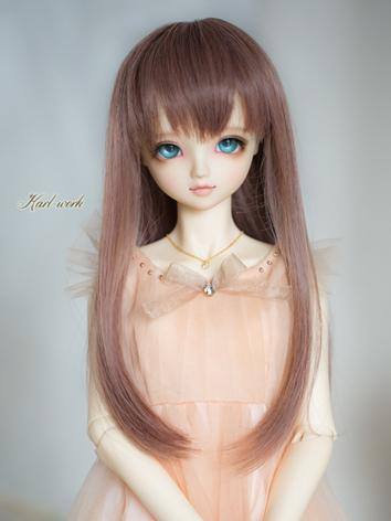 BJD 1/3 Wig Girl Purple Lon...