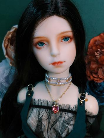 BJD Pink Necklace for SD Ba...