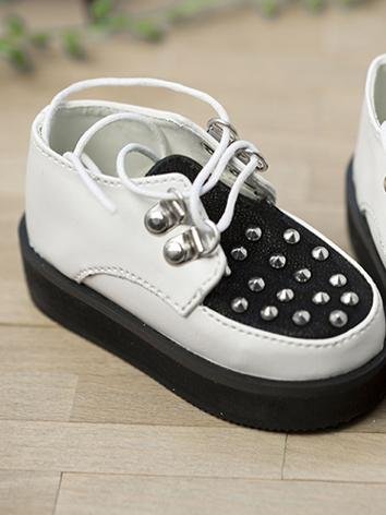 1/3 Shoes Boy Black Shoes for SD10/SD13 Size Ball-jointed Doll