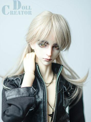 BJD Wig Boy/Girl Gold Long Hair for SD Size Ball-jointed Doll