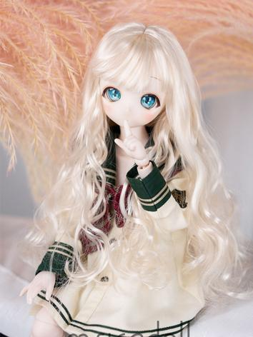 BJD Wig Girl/Boy Long Hair Wig for YOSD/MSD/SD Size Ball-jointed Doll