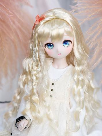 BJD Wig Girl Long Hair Wig for MSD/SD Size Ball-jointed Doll