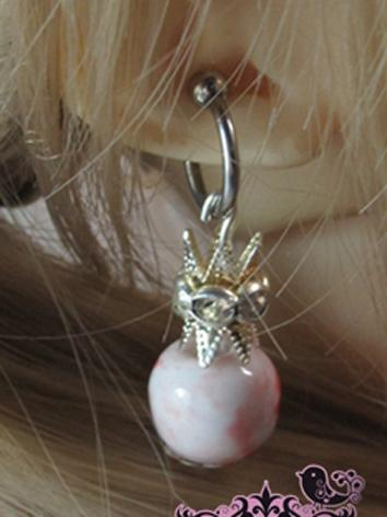 BJD Accessaries Pink Earrings For MSD/SD/70CM Ball Jointed Doll