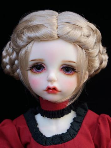 1/3 1/4 1/6 Wig Girl Gold L...