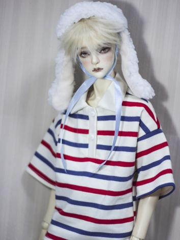 BJD 1/4 1/3 70cm Clothes Strip T-shirt A305 for MSD/SD/70cm Size Ball-jointed Doll