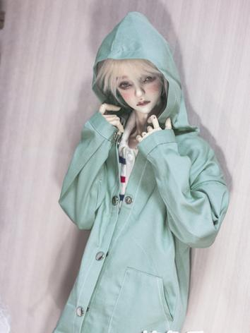 BJD Boy Outfit 1/3 1/4 70cm Clothes Green Coat A185 for MSD/SD/70cm Size Ball-jointed Doll