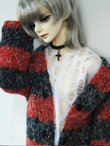 BJD Clothes Boy/Girl Red&Bl...