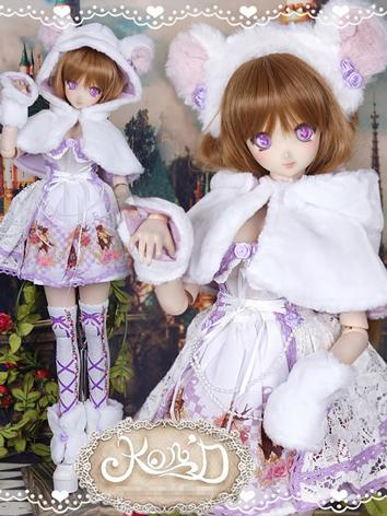 1/3 BJD Clothes Girl Purple...