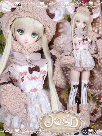 1/3 BJD Clothes Girl Pink C...