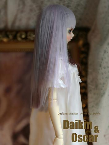 BJD Wig Girl Long Straight ...