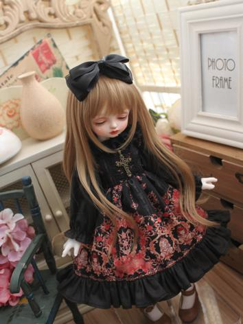 BJD Clothes Girl Black&Red ...