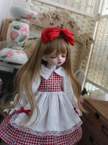 BJD Clothes Girl White&Red ...
