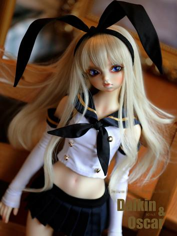 BJD Clothes Girl Coat and S...