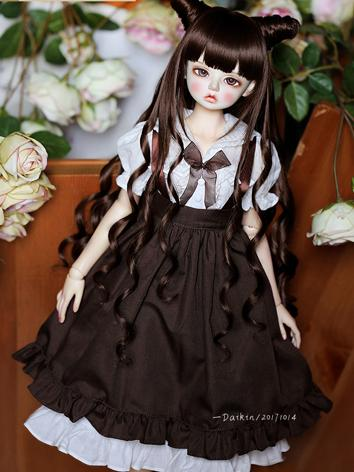 BJD Clothes Girl Chocolate ...