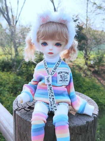 BJD Clothes Girl Colorful C...