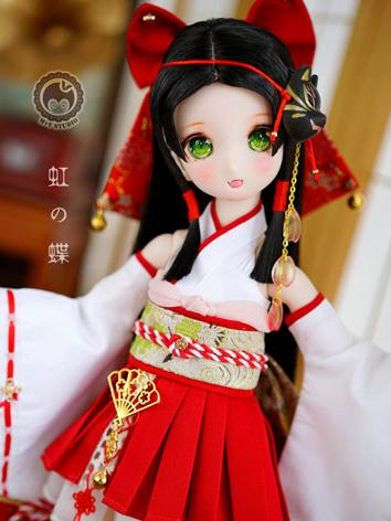BJD Clothes Girl Red&White ...