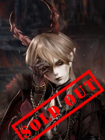 Limited BJD Night Wolf Alph...
