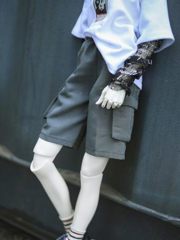 BJD Boy Clothes 1/4 1/3 70cm White Shorts A312 for MSD/SD/70cm Size Ball-jointed Doll