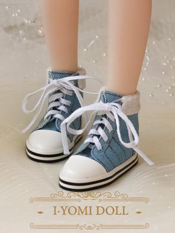 BJD Girl/Boy Blue/Pink/Red/Green Sports Shoes for MSD/SD size Ball-jointed Doll