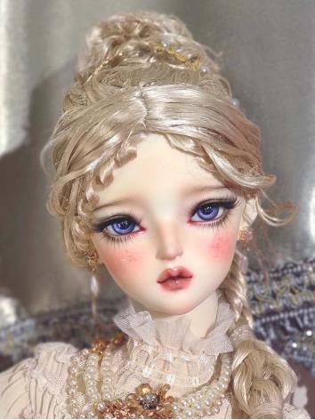 BJD Wig Gold Long Hair for SD Size Ball-jointed Doll
