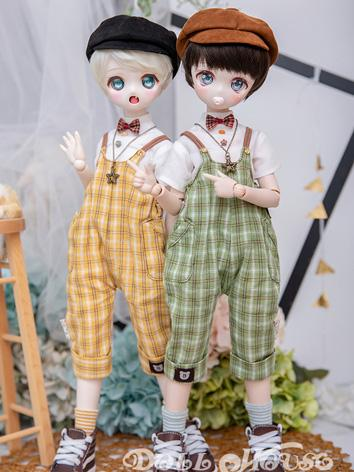 BJD Clothes Girl Yellow/Gre...