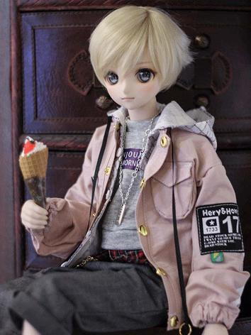 BJD Clothes Boy/Girl Coat f...