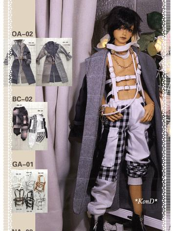 BJD Clothes Boy Coat and Tr...