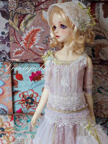 BJD Clothes Violet Dress Se...