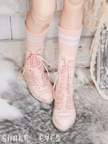 BJD Shoes Boy/Girl Pink/White/Black Boots Shoes for SD/SD13/SD17 size Ball-jointed doll
