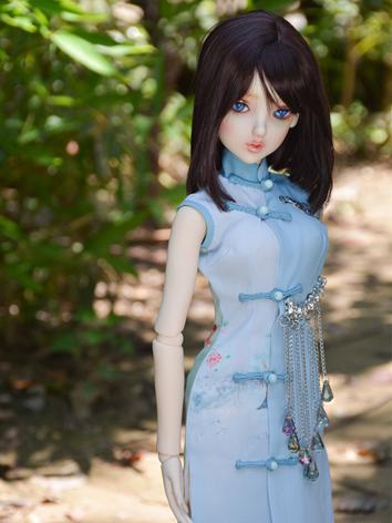BJD Clothes Girl Blue Dress...