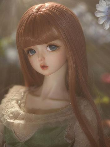 BJD 1/3 Wig Brown Curl Hair...