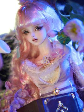 BJD 1/3 Pink curly princess...