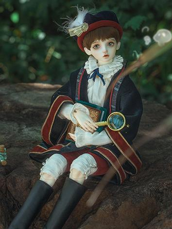 BJD Clothes Boy Suit 45YF-B007 for MSD Ball-jointed Doll